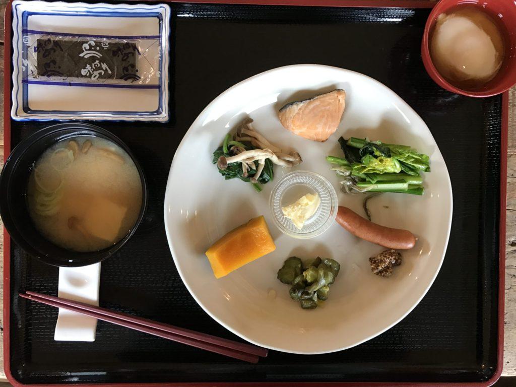 川島旅館 朝ごはん